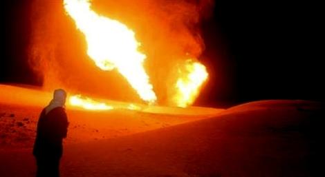En Libye, l'armée britannique a bombardé un des oléoducs construits par la Russie.