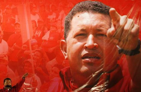 Venezuelan President Hugo Chavez speaks during a campaign about his proposal of constitutional changes in Caracas