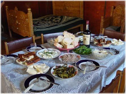 Les Russes, comme tous ceux qui ont eu la chance d'y goûter, raffole de la nourriture géorgienne.