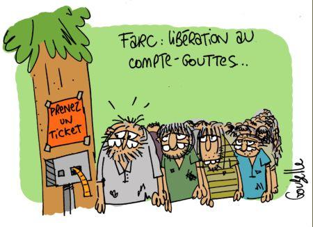 Les guérillas, dont celle des Farc, dont éclos il y a cinquante ans pour demander une réforme agraire. Devant l'éternisation du conflit, elles se sont mises à des activités criminelles telles que le trafic de drogue, le racket ou les prises d'otage.